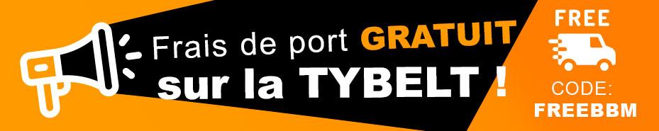 frais de port gratuit avec le code FREEBBM